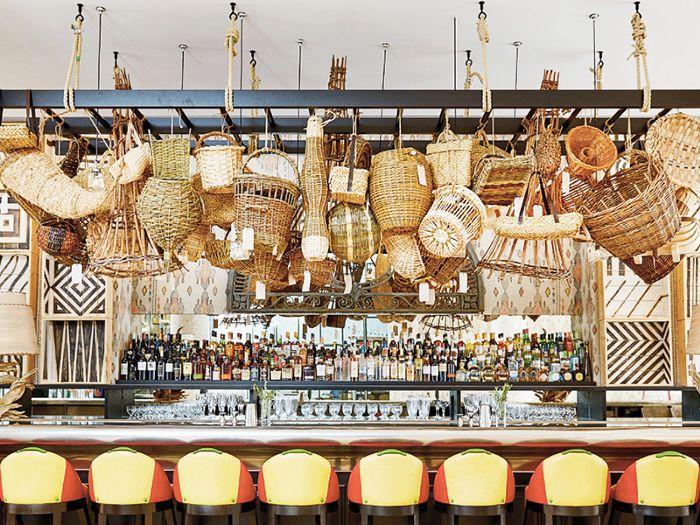 New York Whitby Bar — Basket Bags