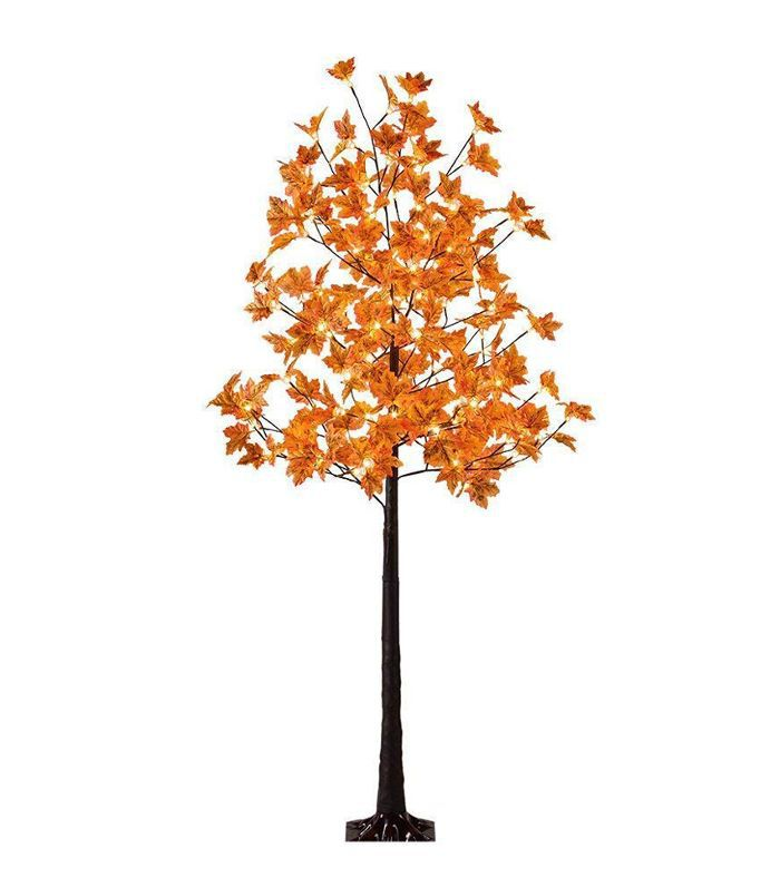 Lightshare LED Lighted Maple Tree Amazon Thanksgiving Decor