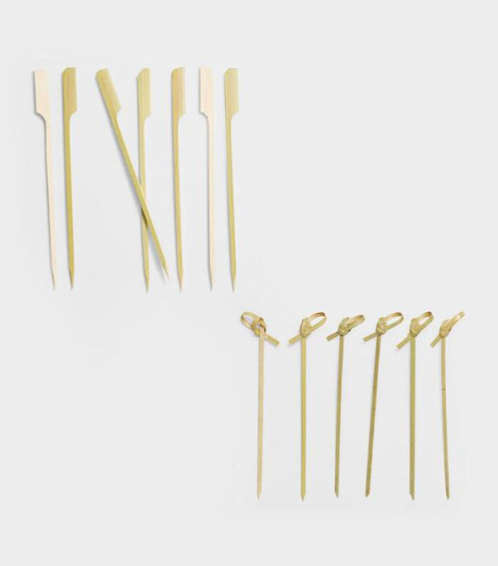 Bamboo Knot Picks or Skewers by World Market Picks