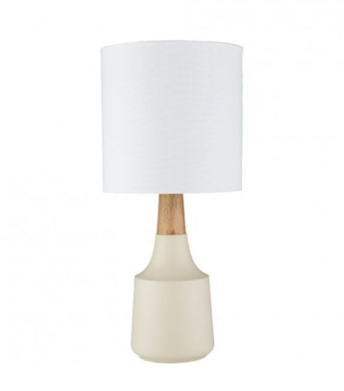 Marcella Mini Table Lamp, Cream