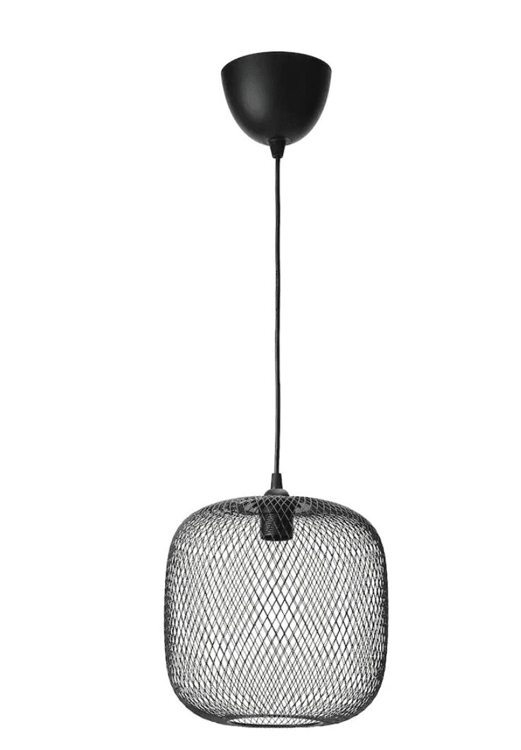 IKEA black lamp