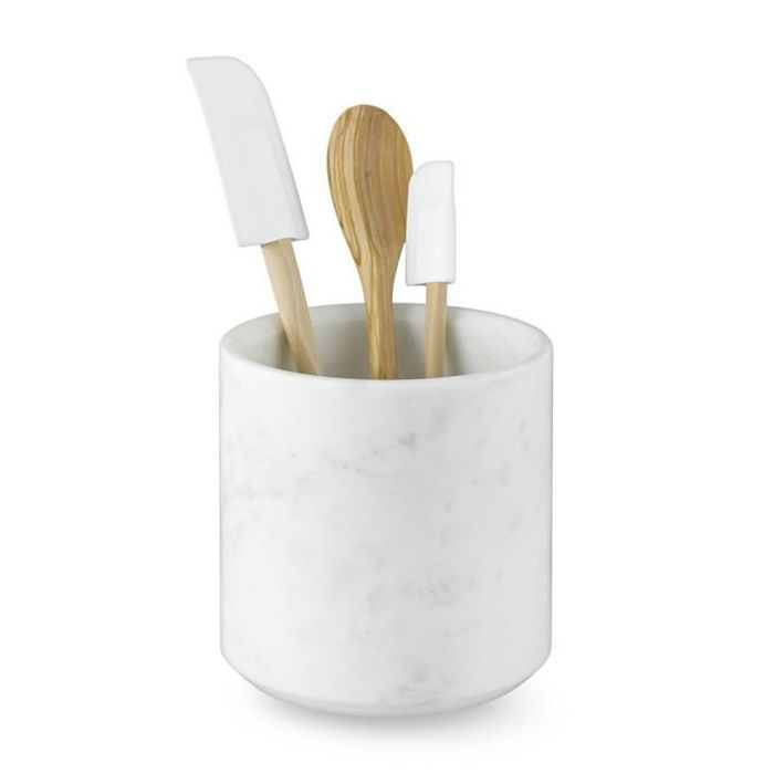 Williams-Sonoma Marble Partitioned Utensil Holder