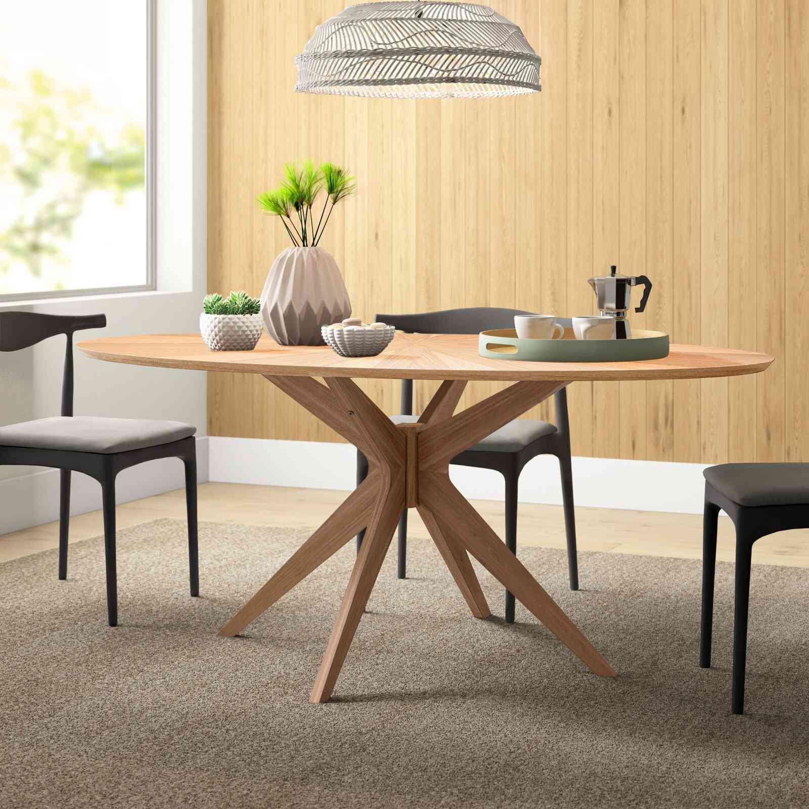 Carolyn Pedestal Dining Table