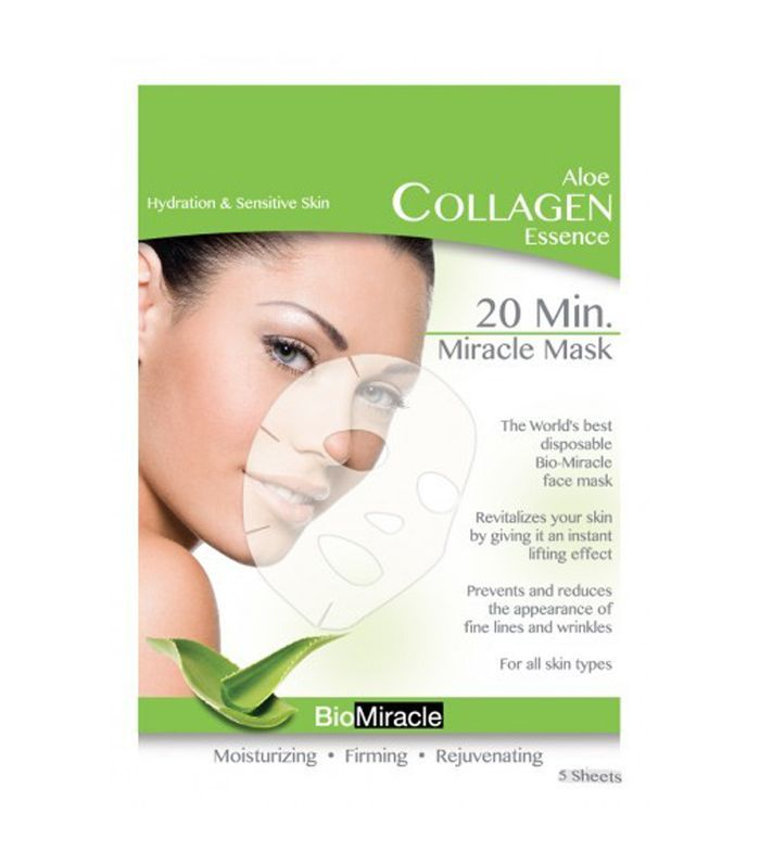 Bio-Miracle Aloe Anti-Aging Collagen Face Mask