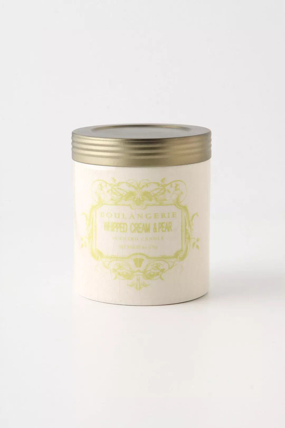Whipped Cream & Pear Candle