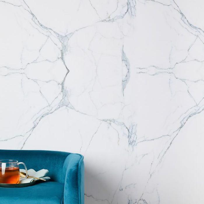 West Elm Chasing Paper Carrara Marble Wallpaper