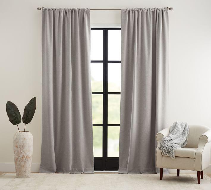 Peace & Quiet Noise-Reducing Blackout Curtain - Gray