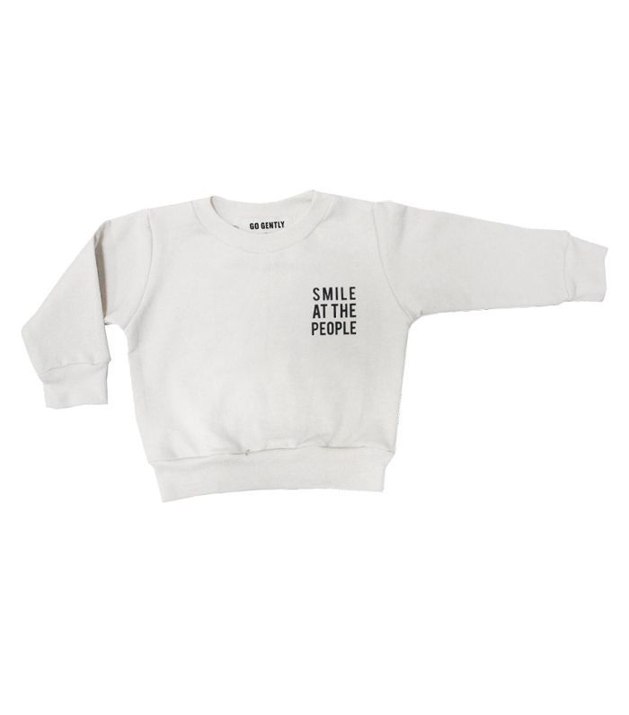 Go Gently Nation Smile at the People Crewneck