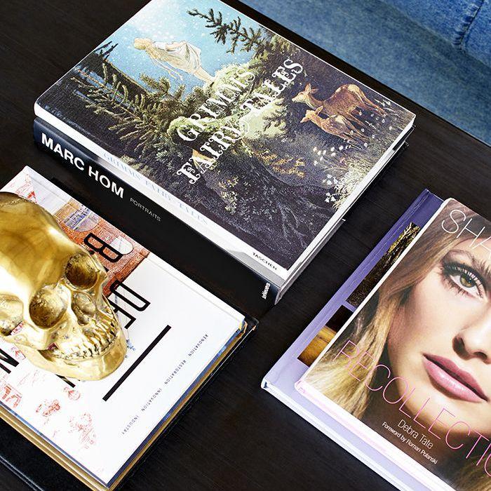 Brooklyn Decker's coffee table books
