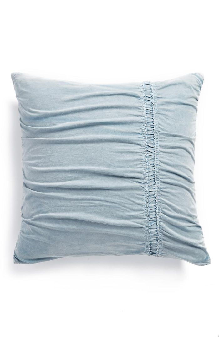 Stonewash Jersey Accent Pillow