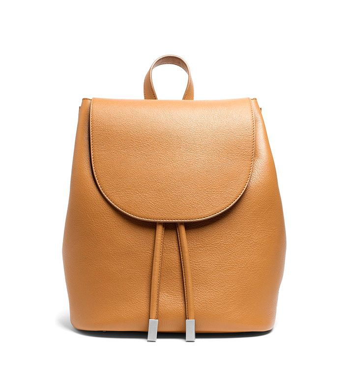 Women's Petra Backpack Leather Bag by Everlane in Tan