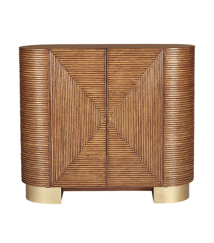 CB2 Avalon Rattan Bar
