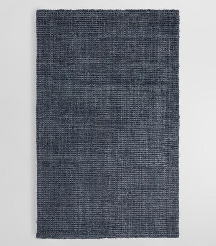 Charcoal Gray Jute Boucle Area Rug - 8Ftx10Ft by World Market 8Ftx10Ft