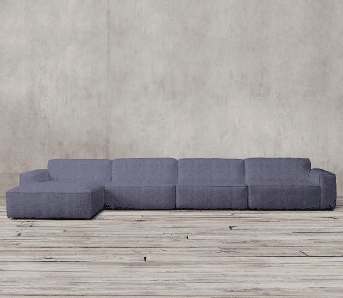 Restoration Hardware Como Modular Sofa