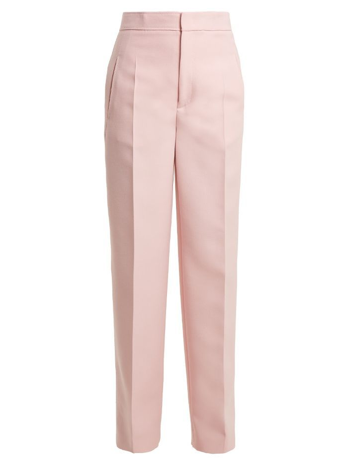 Joseph Solar high-rise wide-leg trousers