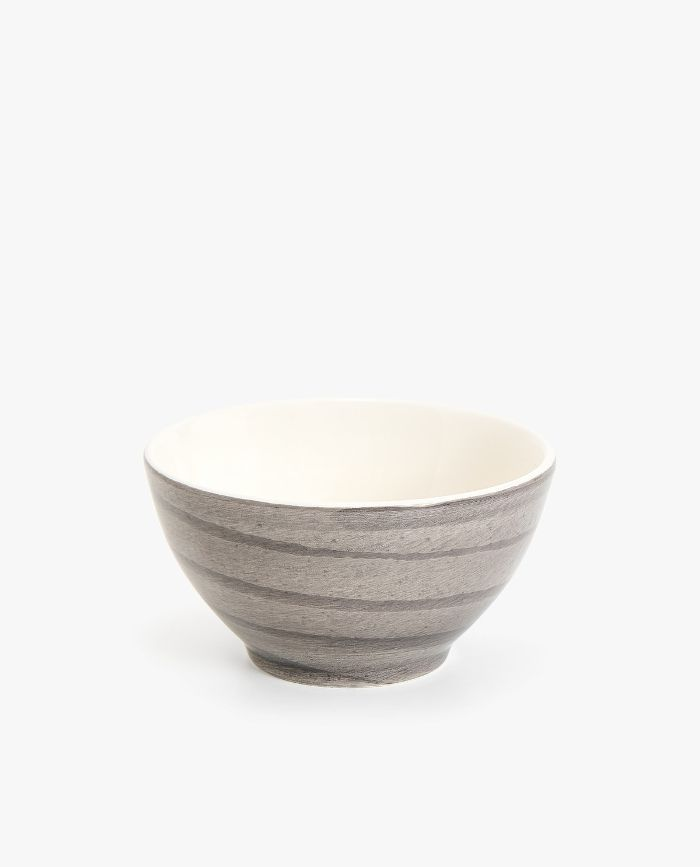 Zara Home Earthenware Bowl with Spiral Design
