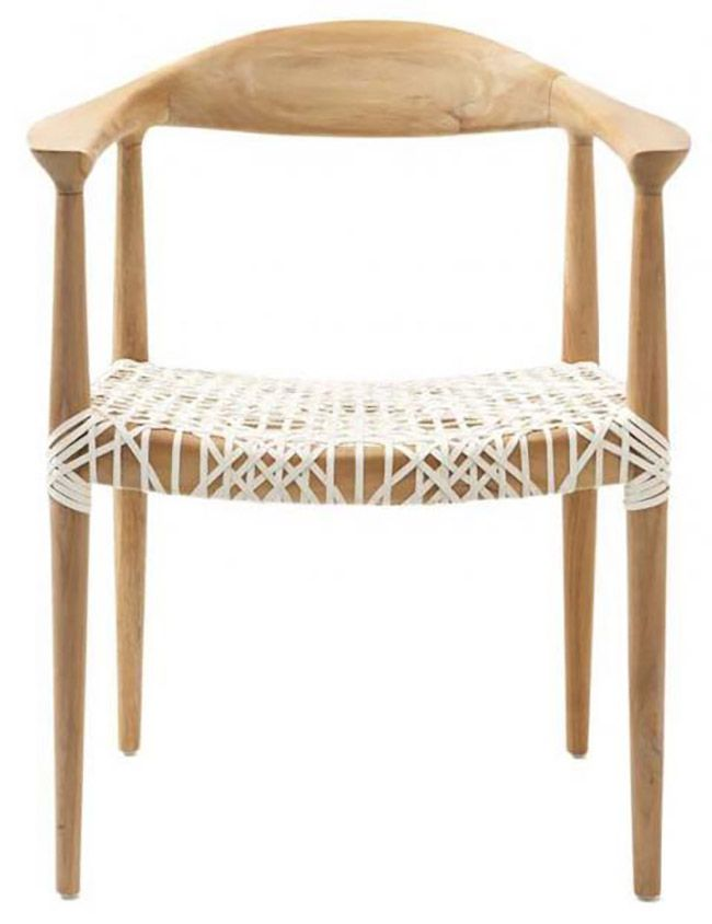 woven seat dining chair