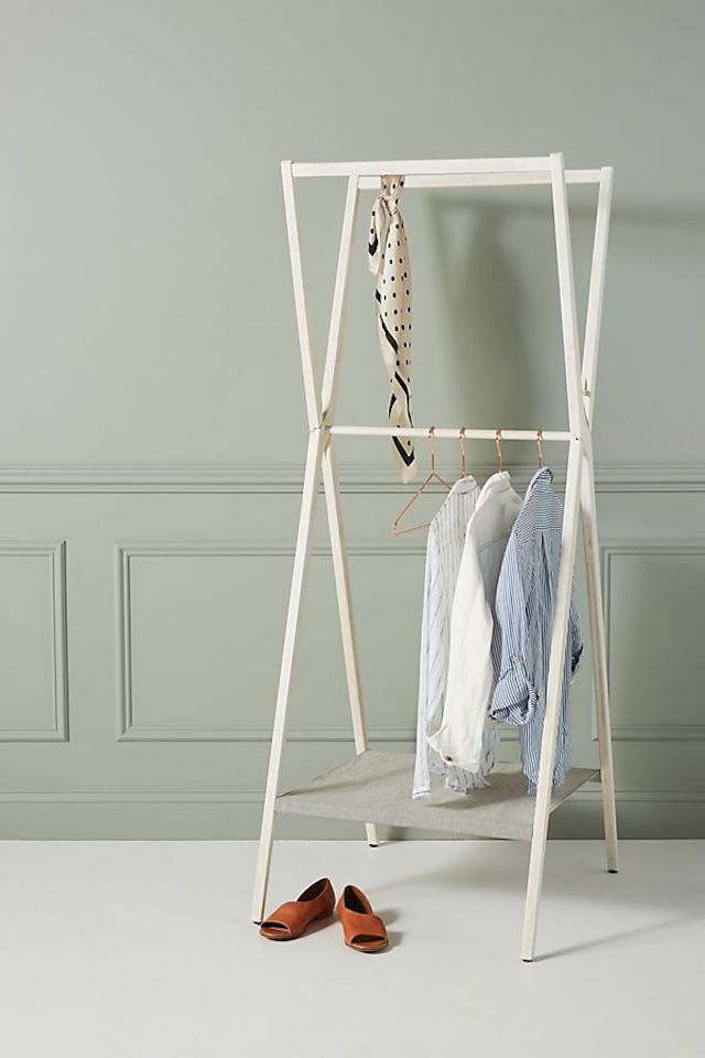 Anthropologie folding garment rack