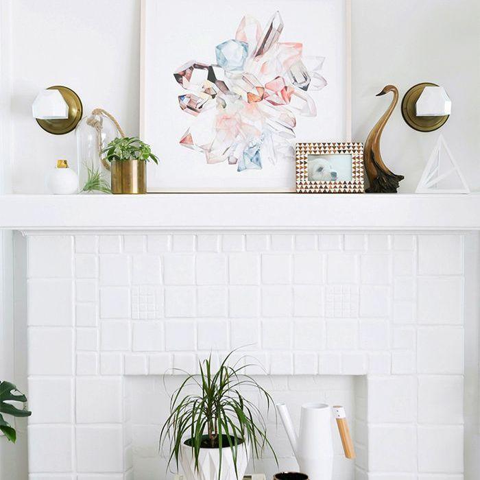 Monica Wang fireplace