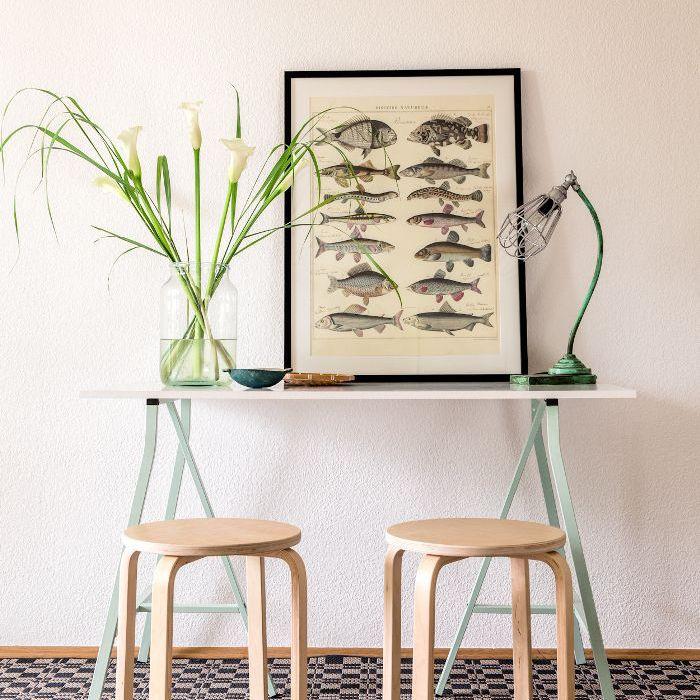 IKEA stool—home office