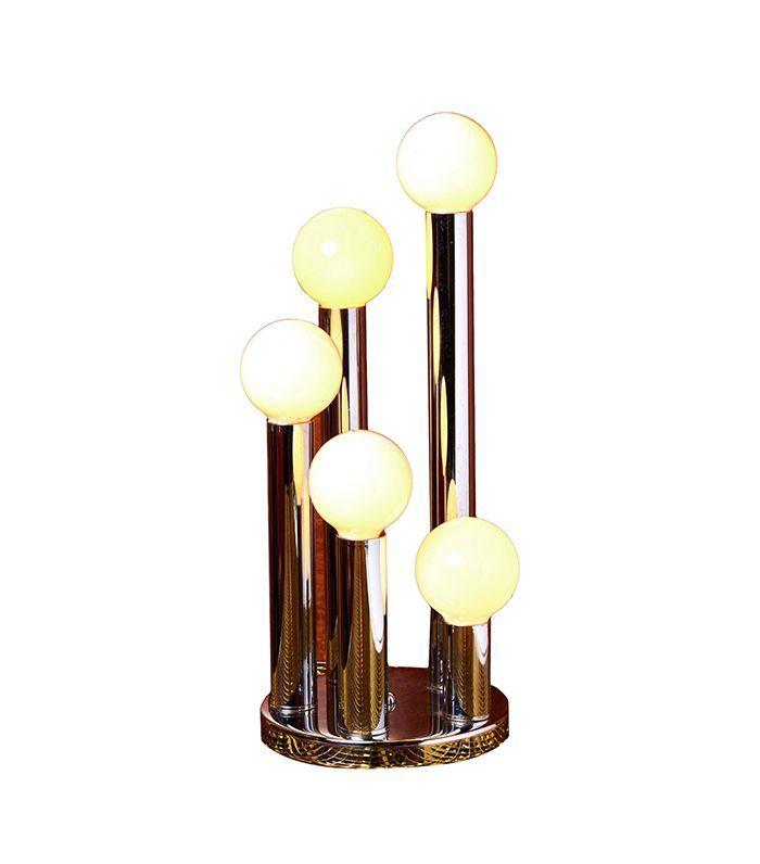 Coming Soon 5 Globe Chrome Table Lamp