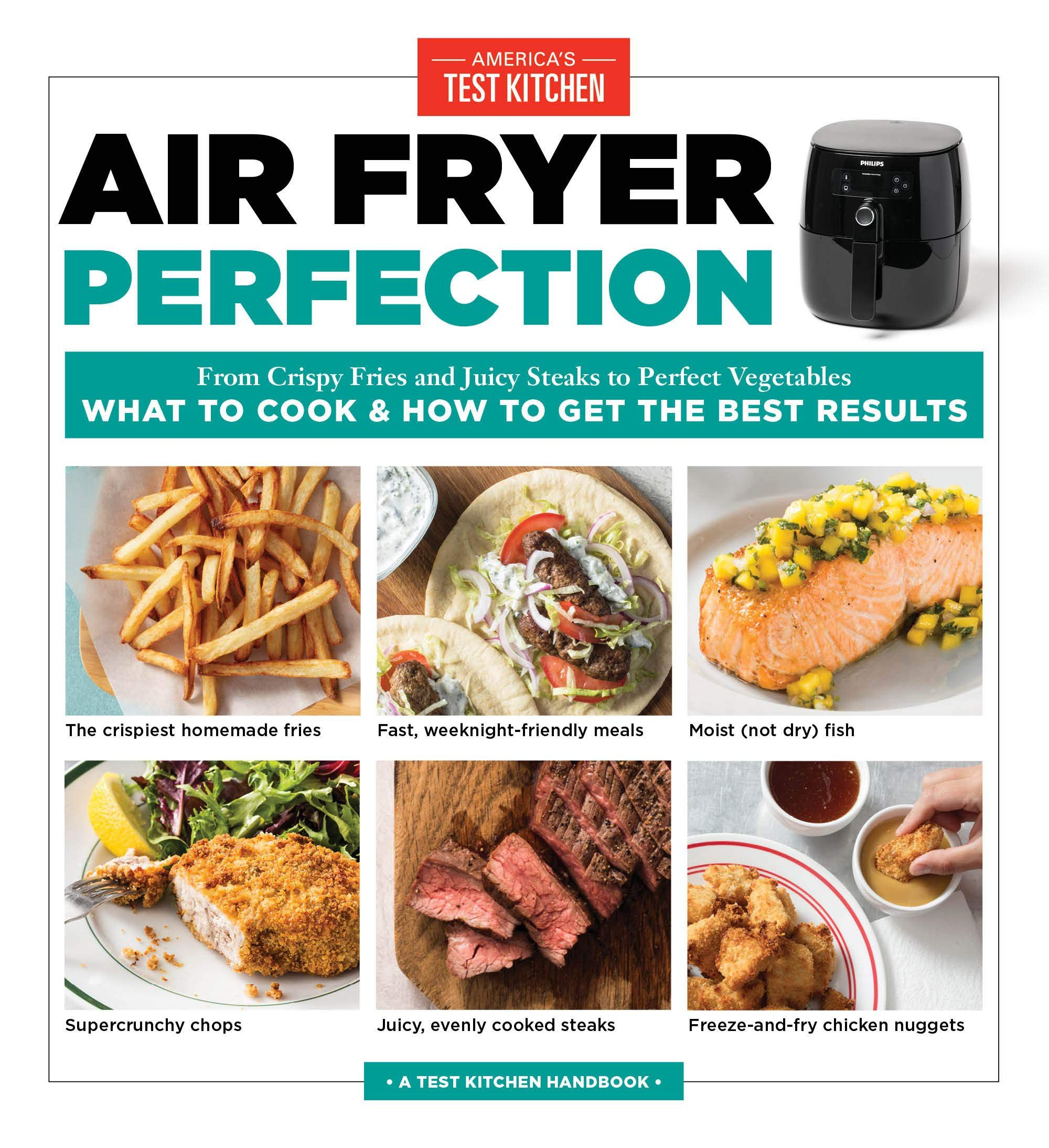 Air Fryer Perfection—Best Air Fryer Cookbooks