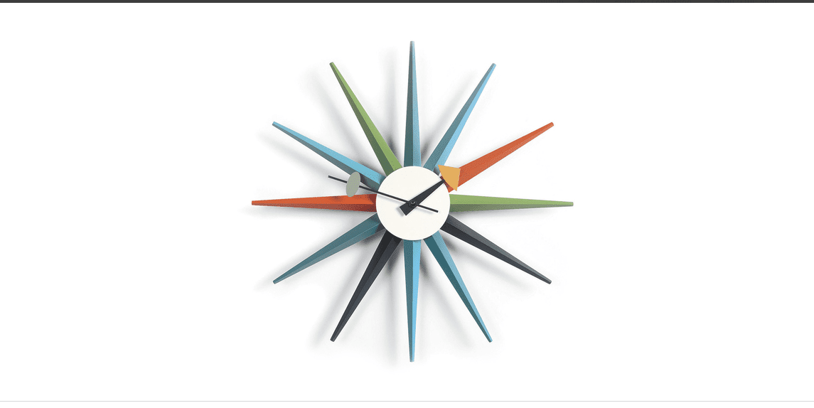 Kardiel Sunburst Clock