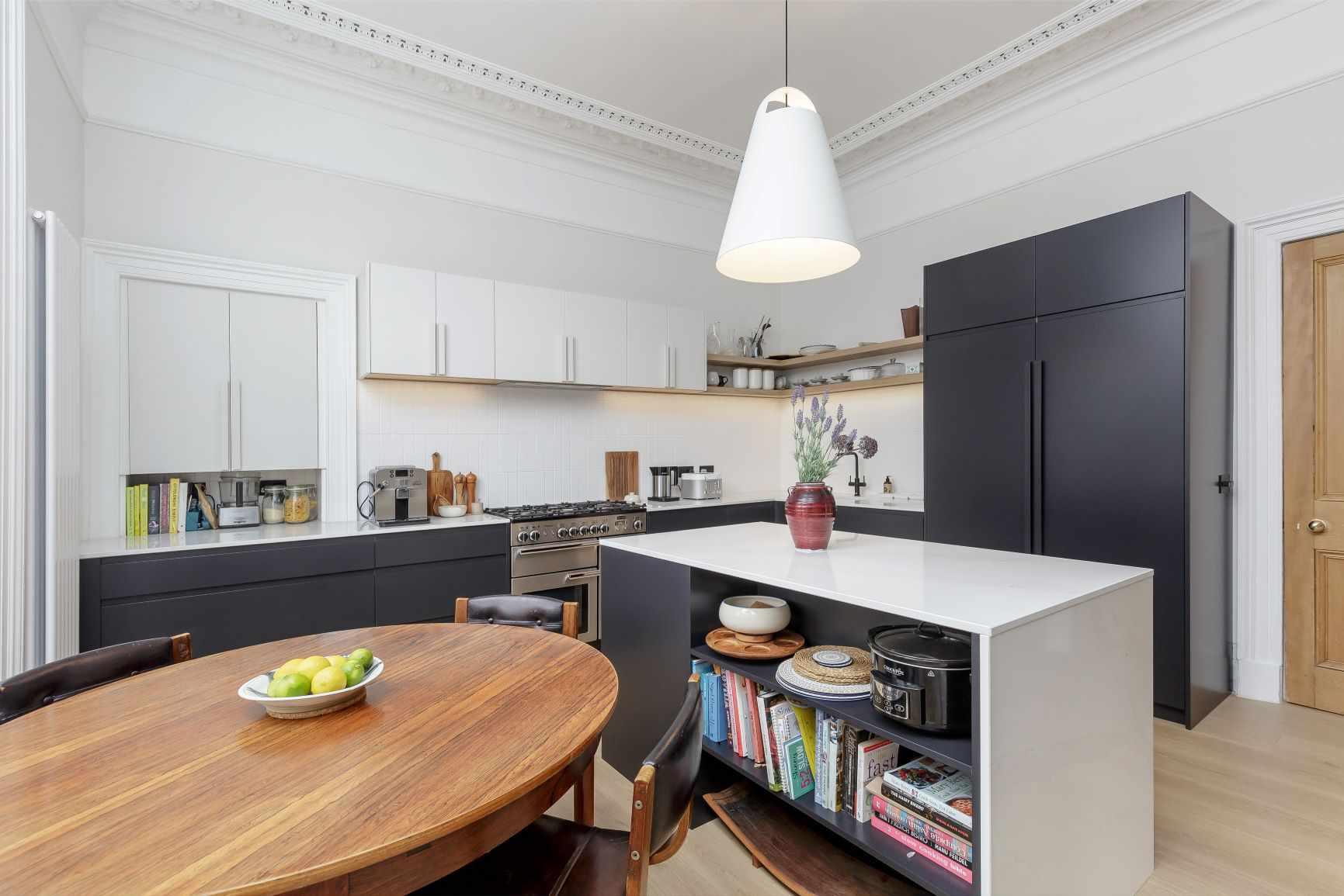 geometric kitchen