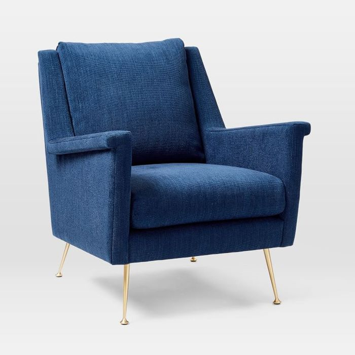 West Elm Carlo Midcentury Chair—Midcentury Modern Living Rooms