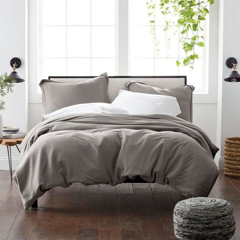 The Company Store Organic Jersey Duvet Cover