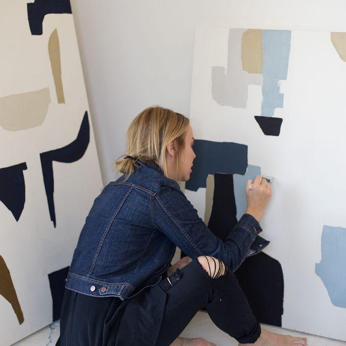 abstract artist—Holly Addi
