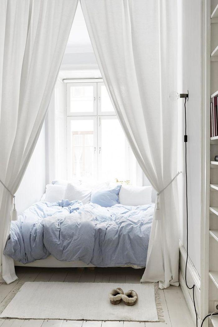 Bedroom Feng Shui, an uncluttered bedroom