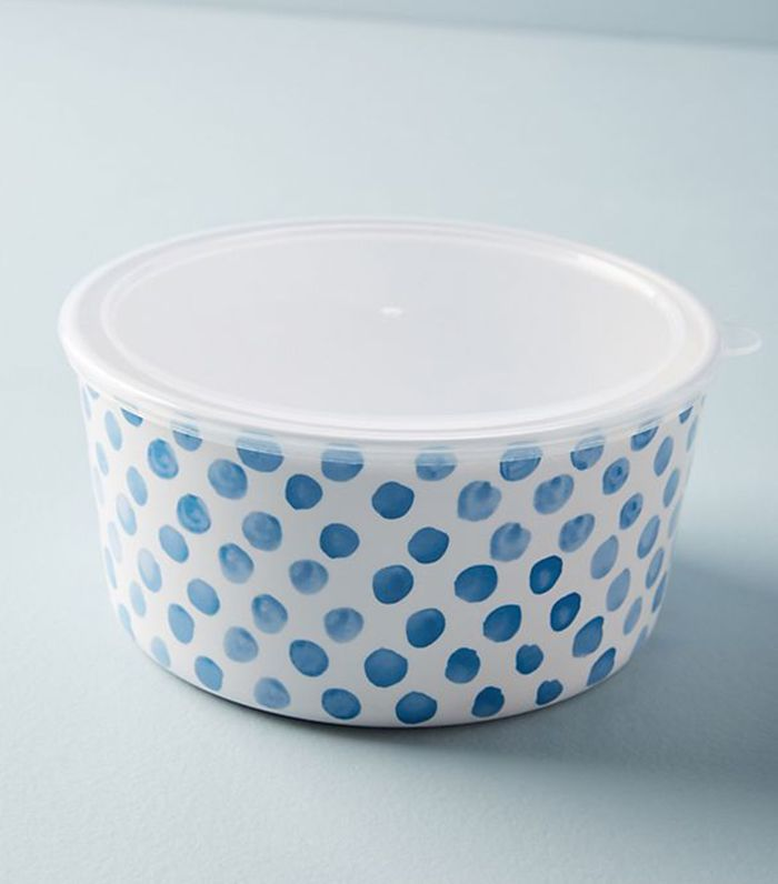 Anthropologie Caelan Melamine Storage Bowl