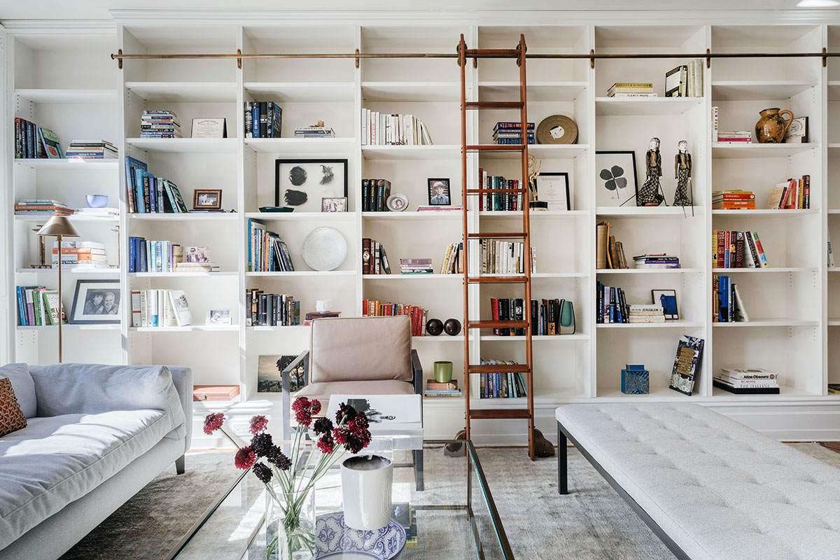 Diseño de la biblioteca del hogar