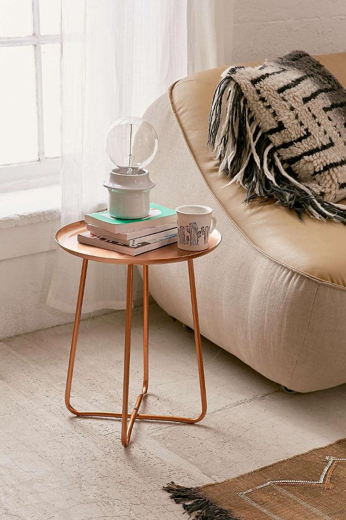 Blaire Metal Side Table