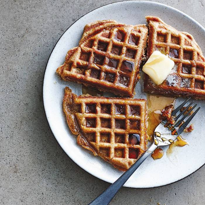 Recetas Saludables - Waffles Veganos
