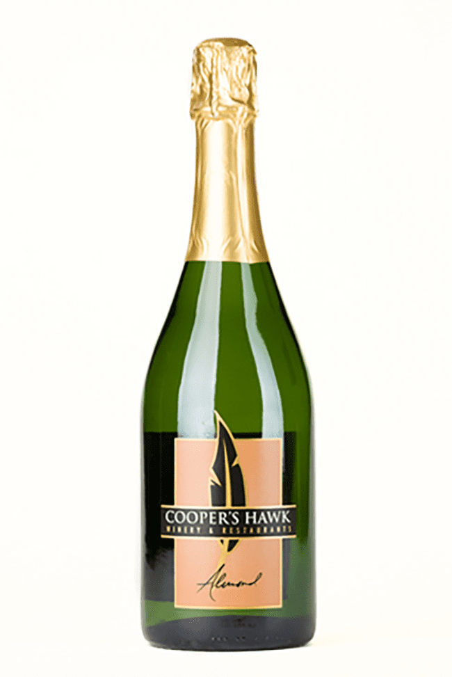 sparkling almond wine