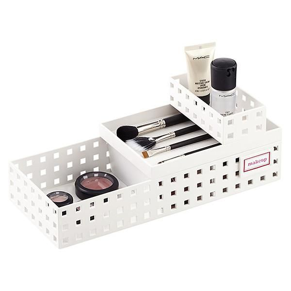 White Like-it Make-up Organizer