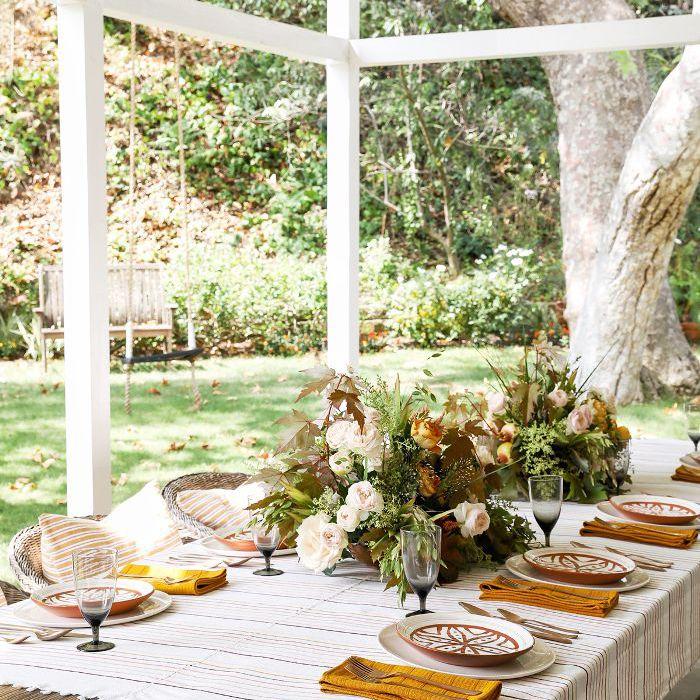 Ajuste de la mesa de otoño
