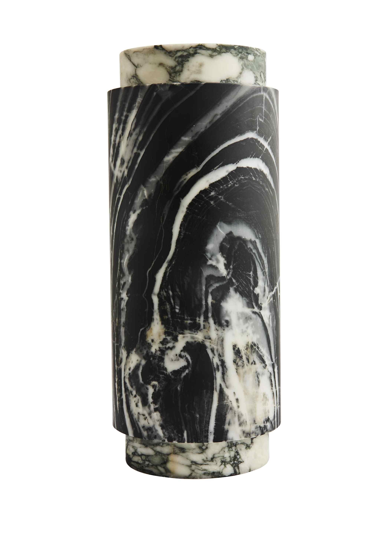 Pillar Vase Large Zebrano and Fiore