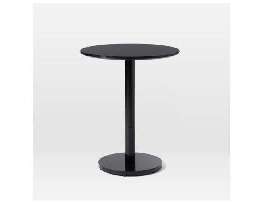 West Elm Chroma Bistro Table - Black