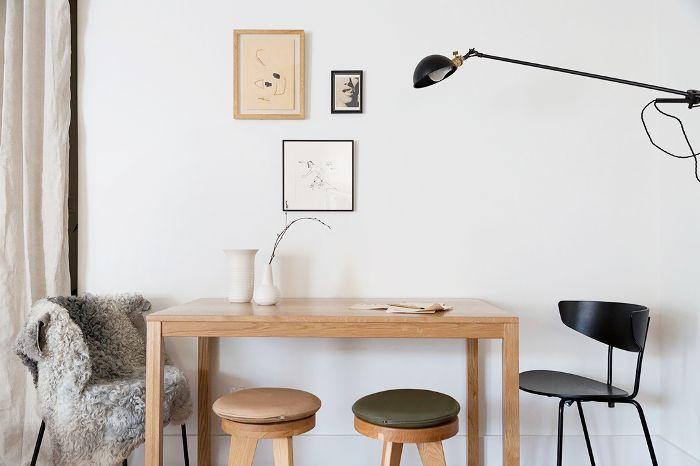 modern workspace—home office