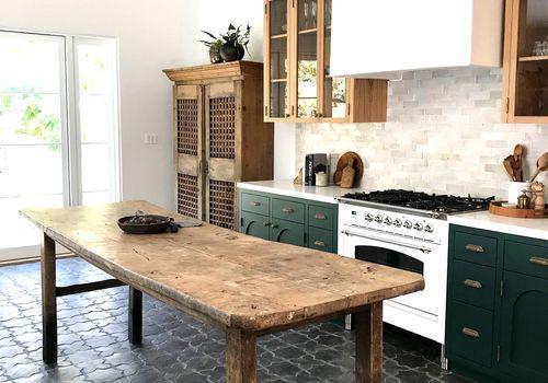 tiled kitchen floors
