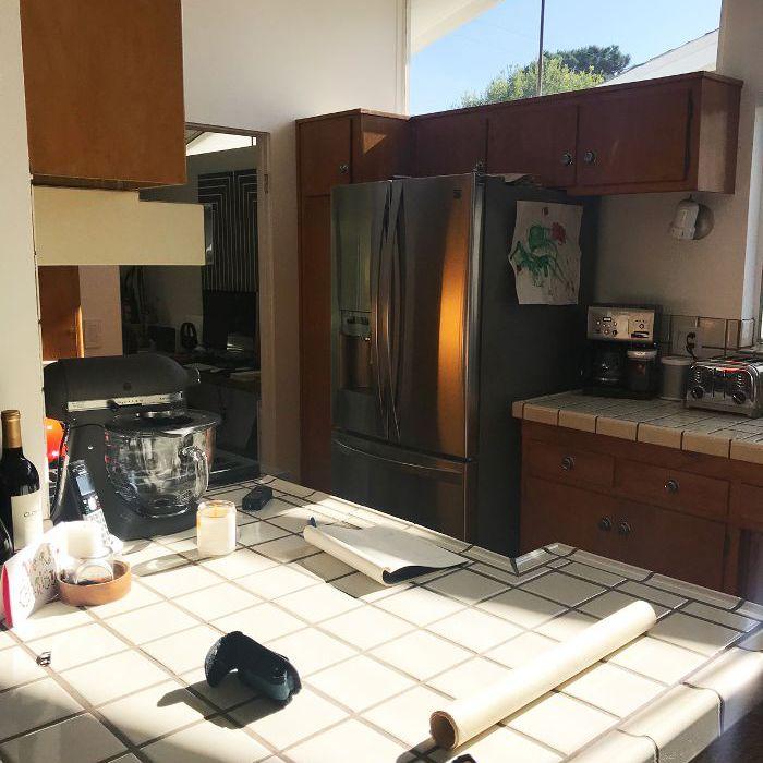 antes de remodelar la cocina