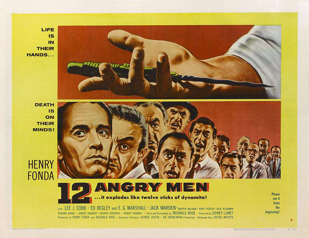 best black and white movies - 12 angry men