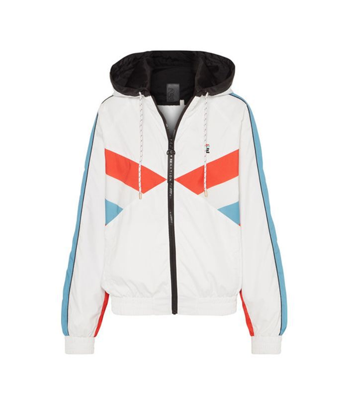 P.E Nation The Ruck Hooded Paneled Shell Jacket