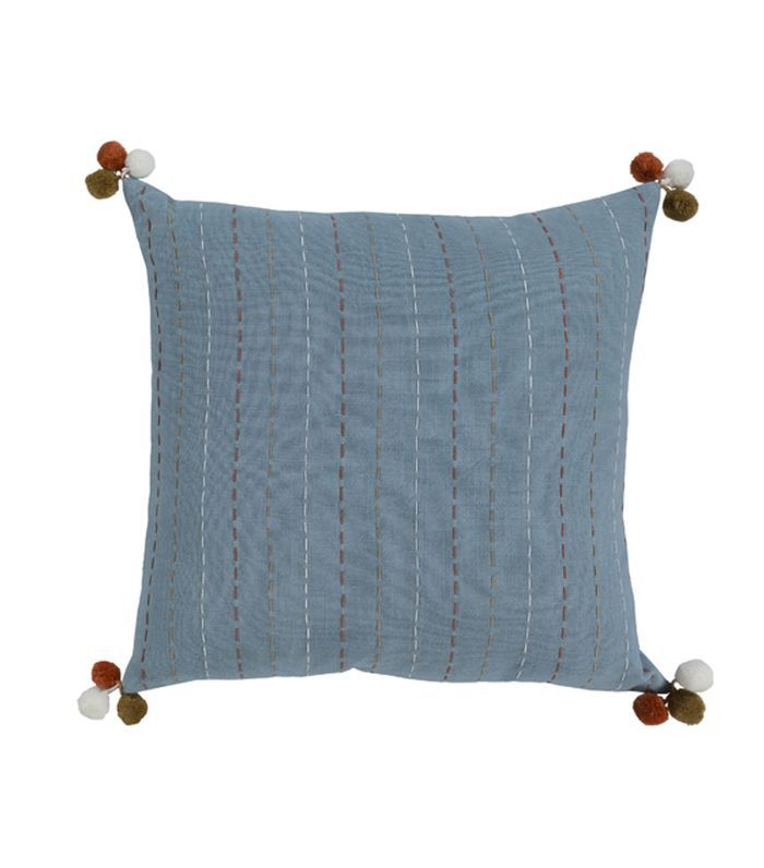 Zeba Pillow, Blue