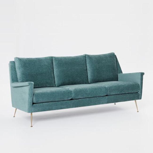 West Elm Carlo Mid-Century Sofa