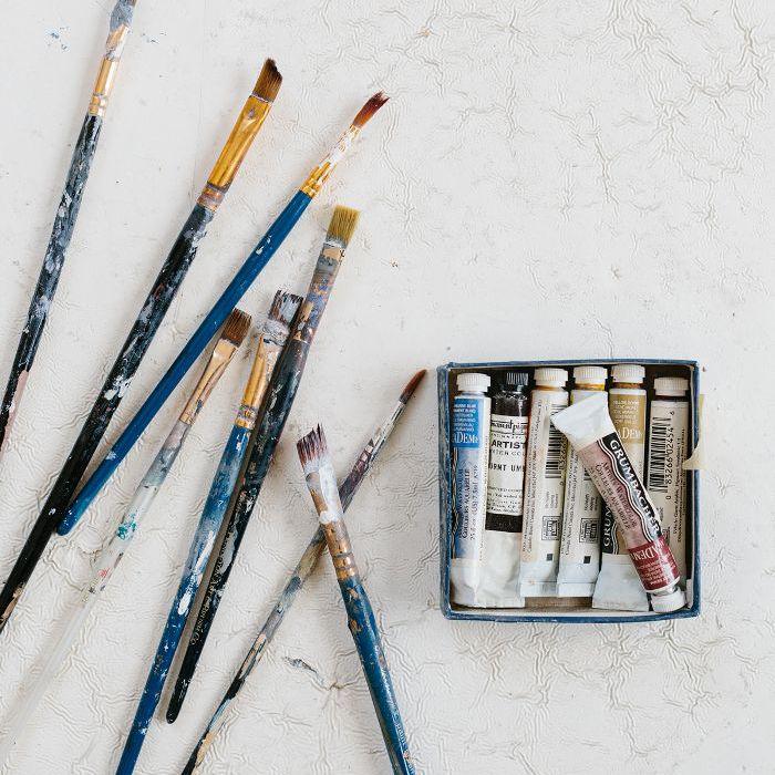 art studio—Holly Addi