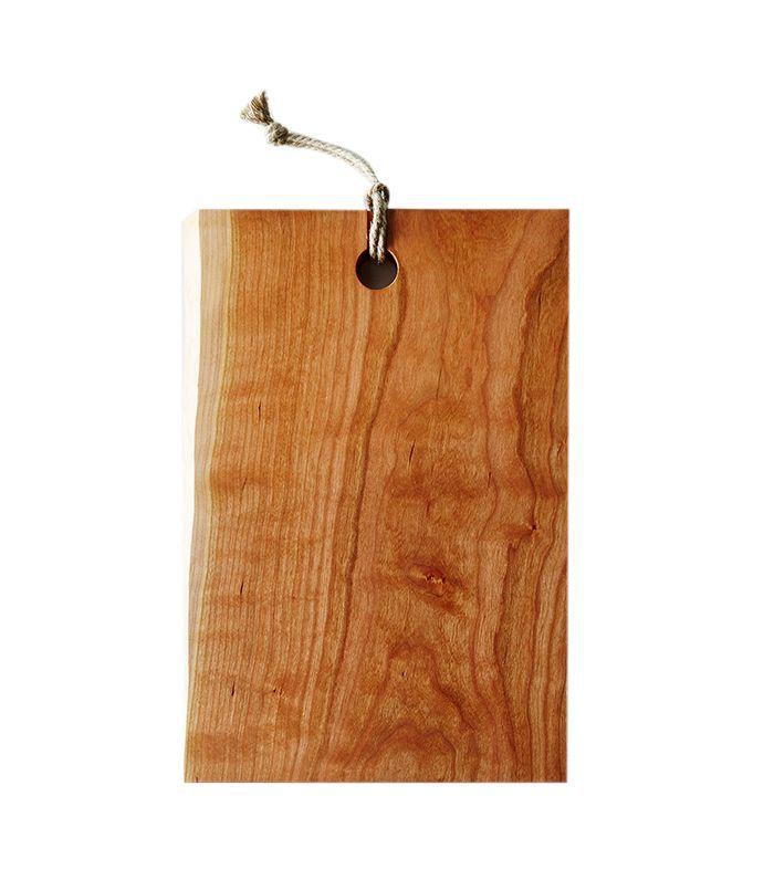 Yoav S. Liberman Live-Edge Domestic Wood Serving & Cutting Board
